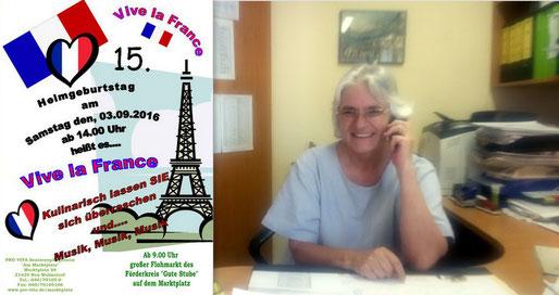 PRO VITA-Leiterin Heike Edinger freut sich auf das große Sommerfest