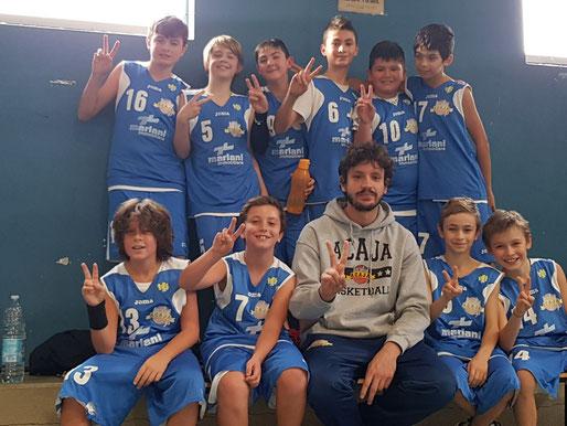 L'Under 12 CSI Acajotta vincente a Mondovì