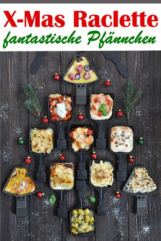 Auf der Suche nach tollen Ideen für Raclette? Dann bitte hier entlang - Gyros- , Cheeseburger-, Pizza-, Flammkuchen-, Kartoffelgratin-, Nudel-Schinken-Auflauf-, Gnocchi-Pesto-, Pfannkuchen und Bratapfel-Pfännchen.