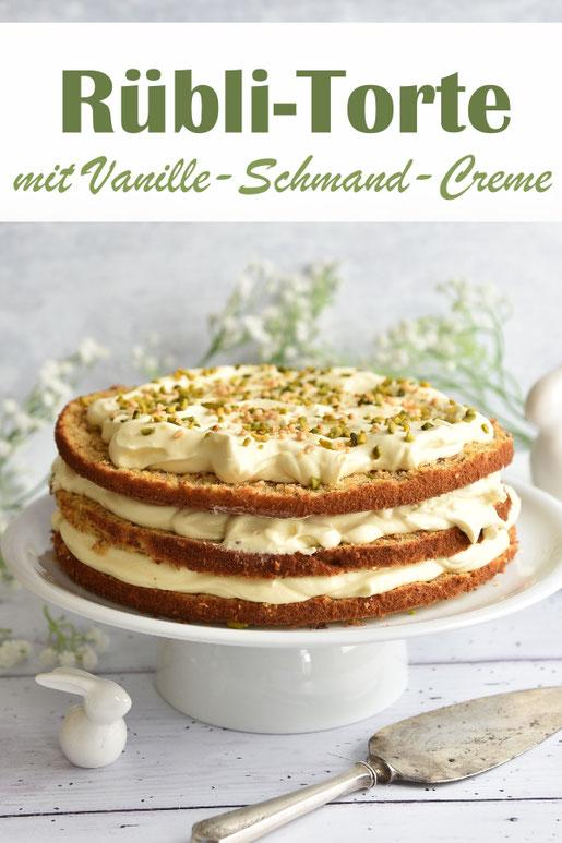 Mein neuster Favorit: Rübli Torte mit Vanille-Schmand-Creme als Naked Cake - der Knaller, fluffig, lecker, perfekte Ostertorte, Frühling, Ostern, Muttertag