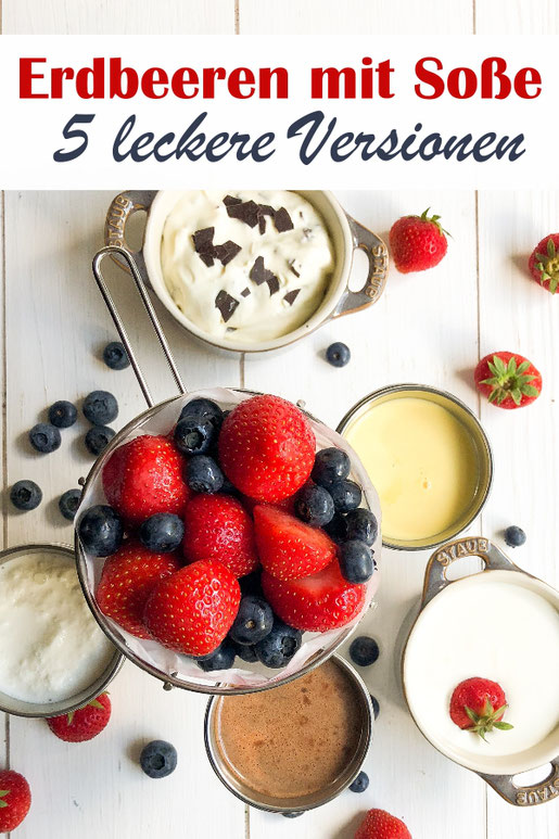 Der für mich perfekte Erdbeerkuchen mit einer Vanillepudding-Schmand-Creme - so lecker! Blechkuchen, vegan möglich, z.B. Thermomix