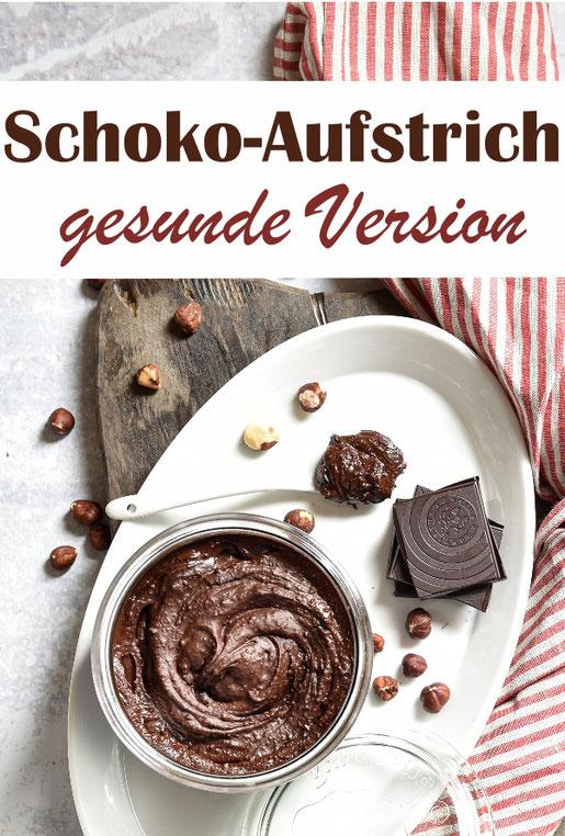 Schokoladen Haselnuss Aufstrich, gesunde Version, je dunkler die Schokolade, desto gesünder, aber auch desto herber im Geschmack, vegan, Thermomix