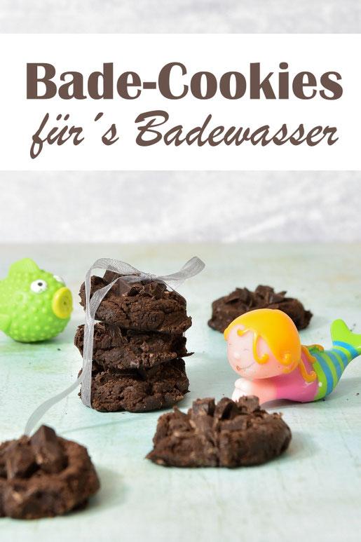 Bade Cookies mit Schokolade zum Baden für das Badewasser, in der Badewanne auflösen, Thermomix, Weihnachtsgeschenk, Ostergeschenk, Geschenk