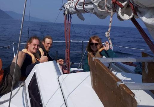 Bild: Alex, Janick und Corina(v.l.n.r.)