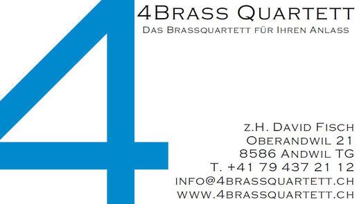 Bestellformular 4brassquartetts Webseite