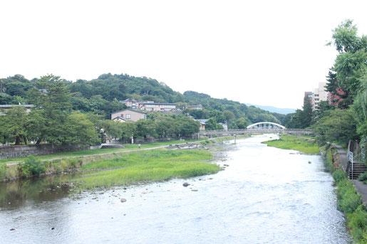 浅野川大橋より