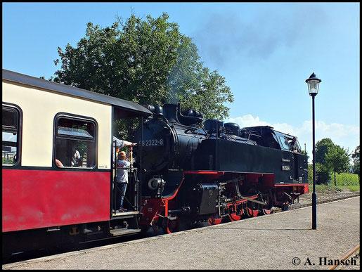 Der gleiche Zug beim Halt in Kühlungsborn Ost