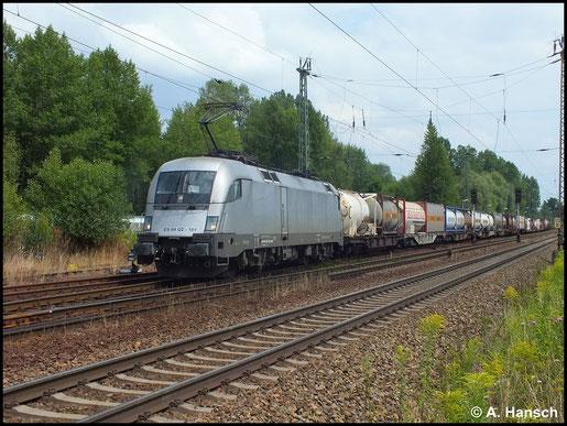 182 601-5 durchfährt mit Güterzug Leipzig-Thekla (16. Juli 2014)