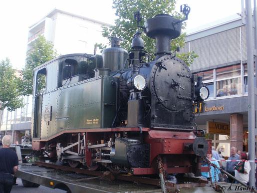 2006 gründete man ein Projekt zum Neubau einer Sächsischen I K. Hier wird die fertige Maschine (Lok Nr. 54 bzw. 99 7528) am 11. September 2010 bei einem Loktransport durch Chemnitz präsentiert