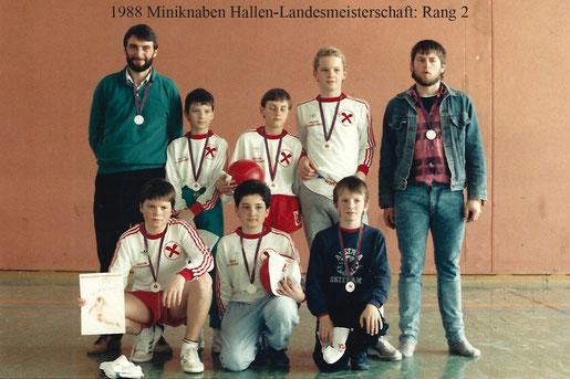 Miniknaben-Landesmeisterschaft – Halle: 2. Rang
