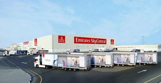 The largest of its kind. Image: Emirates SkyCargo