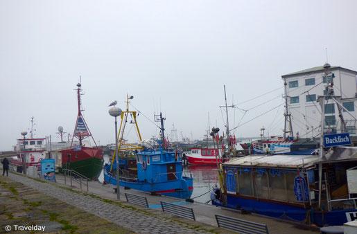 Rügen - Hafen in Sassnitz
