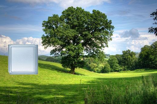 Energy Saving Glasbausteine