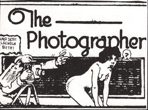 """""""Und jetzt lächeln bitte"""". Amerikanischer Comic, 20er Jahre"""