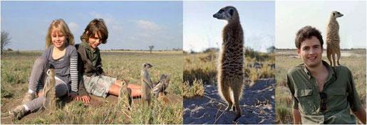 Kinder Safari Botswana