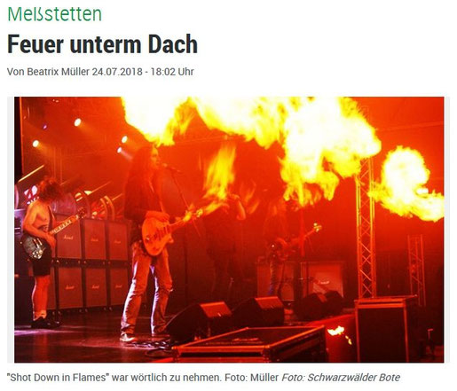 BAROCK - the AC/DC tribute show Meßstetten Hartheim 2018