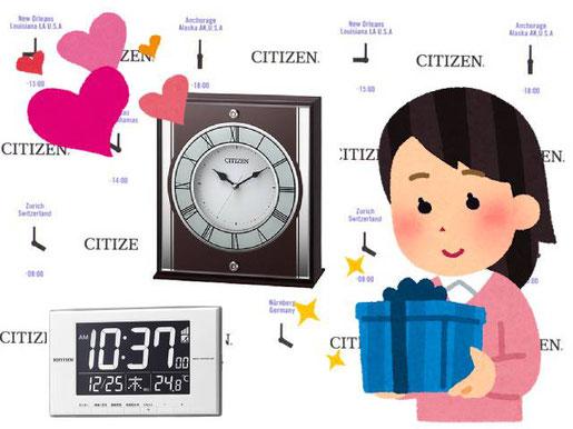 新築祝や記念品に時計のプレゼントをどうぞ