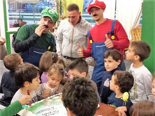 festa a tema super mario roma