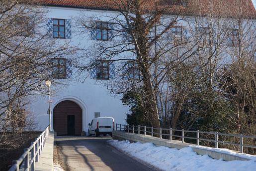 Schloss in Starnberg am Starnbergersee in Bayern