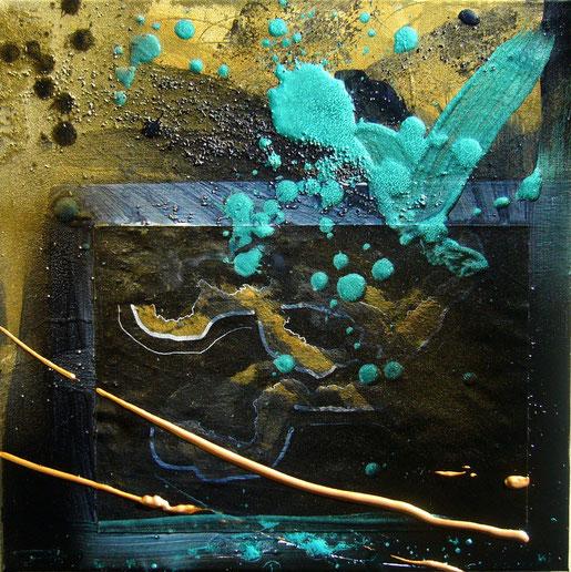 """Pygmalion et Galatée"" - 40X40 - 2013"