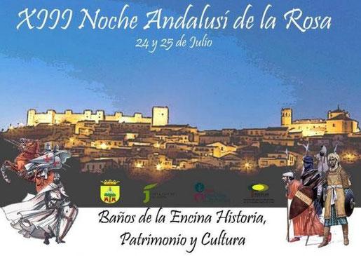 Programa de la Noche Andalusí en Baños de la Encina