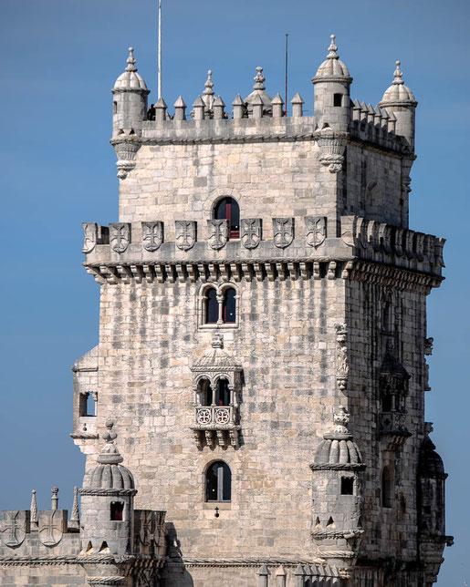Der Festungsturm Torre de Belém