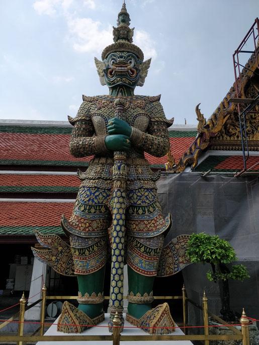 un des 7 gardiens du temple