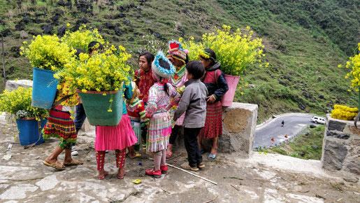 Vendeuses de fleurs
