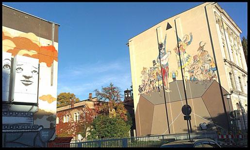 Street Art Tour in Dresden Friedrichstdt - City Bilder Dresden
