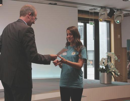 SOMMERUNTERNEHMER-Diplomübergabe, Futurepreneur