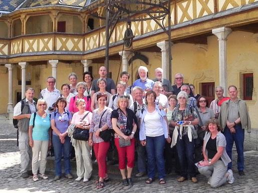 Kulturreise 2012 nach Burgund, Frankreich