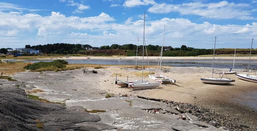 XCAT-Segelreviere fürs mobile Segeln | Wattenmeer an der Ostküste der Nordsee-Insel Sylt, Strand von Syltsurfing, Munkmarsch