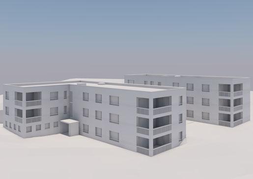 Neubau 2 MFH / Grenzbach, Horw