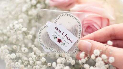 Tea Bags for your wedding!