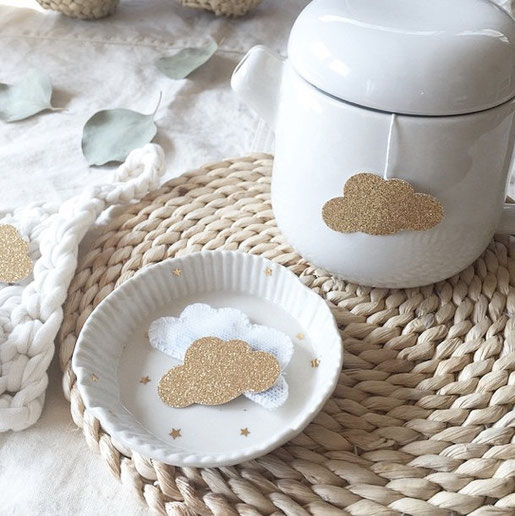 Cloud Shaped Tea Bag