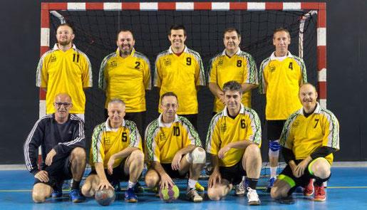 lien vers la page équipe loisirs de la JA Isle Handball