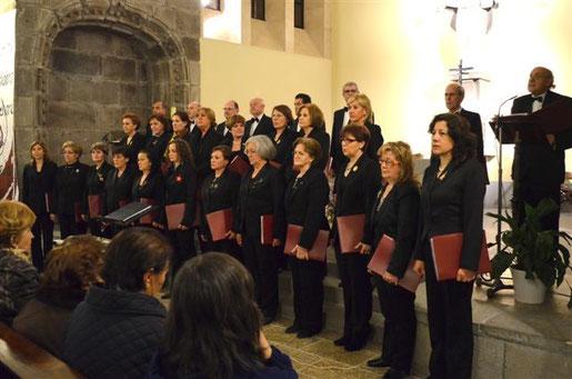 CONCIERTO DE NAVIDAD, 17 DE DICIEMBRE DE 2012, IGLESIA DEL INMACULADO CORAZON DE MARIA ( AVILA) DIRECTOR CARLOS SALDAÑA.