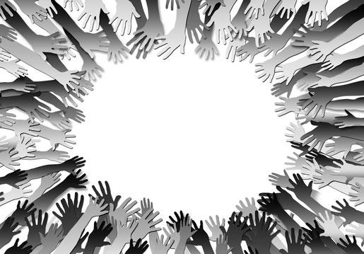 Helfende Hände sind jederzeit gerne willkommen. Schauen Sie sich einfach mal bei den Teams um. (Bildquelle: www.pixabay.com)