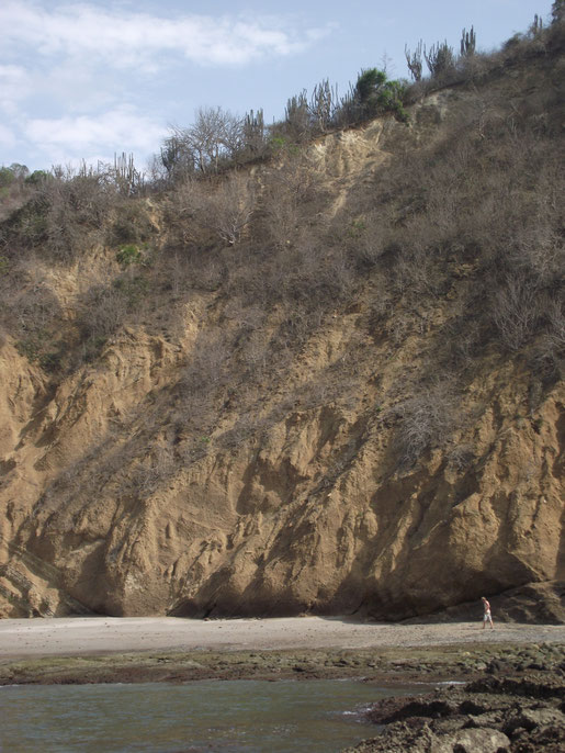 Los Frailes cliffs