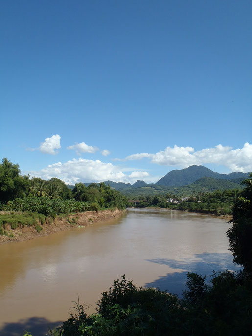 Luang Prabang, river, Laos.