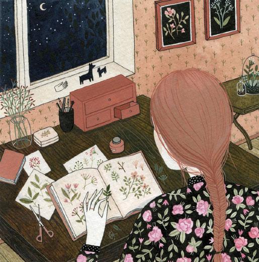 Yelena Bryksenkova, illustration