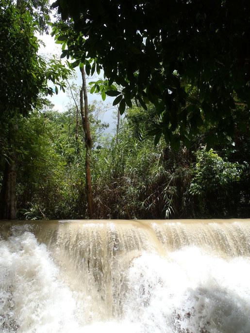 Kuang Si Falls, Waterfall, Luang Prabang, Laos, Asia