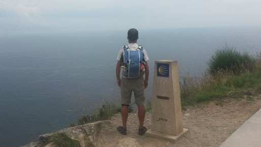 Kilomètre 0 à Fisterra