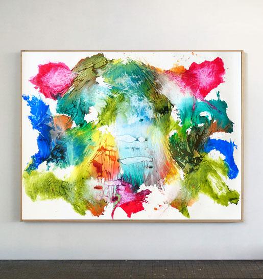 Titans n°8, dim. 130 x 170 cm, 2021