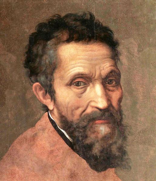 """""""Ritratto di Michelangelo Buonarroti"""", attribuito a Daniele da Volterra"""