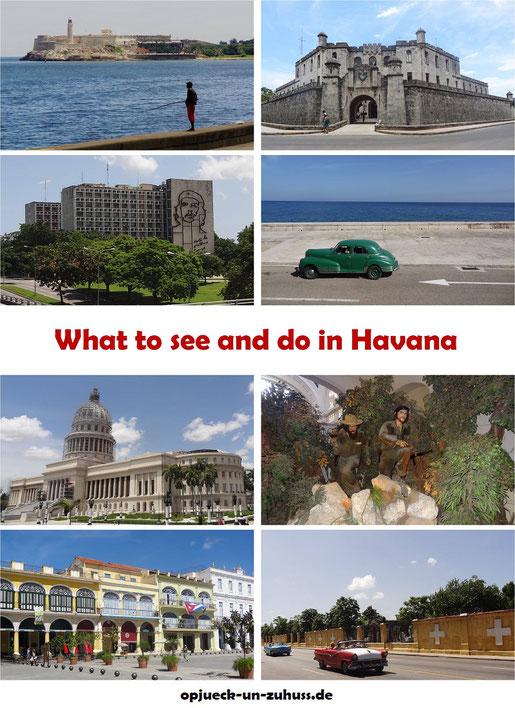 Top 15 Tourist Attractions in Havana