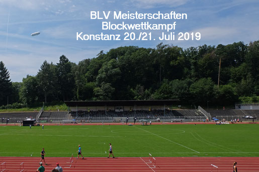 ...ein gutes Pflaster für die Hockenheimer DJK Athleten...das Bodenseestadion in Konstanz
