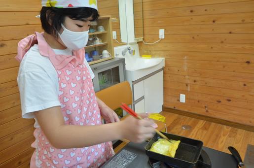 美濃加茂 岐阜 岐南 犬山 一宮 府中(東京)子供料理教室 卵焼き作り