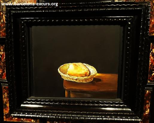 Сальвадор Дали. Корзинка с хлебом.