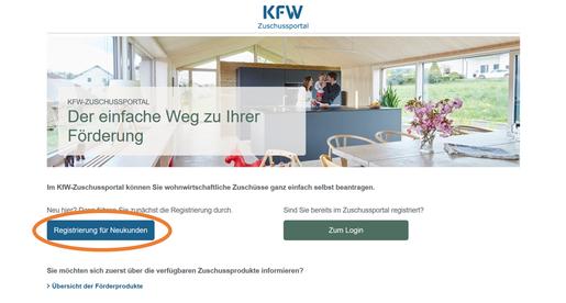 KFW Förderung Registrierung, KFW-Förderung, KFW, Schloss, Sicherheit, Widerstandsklasse, Anleitung